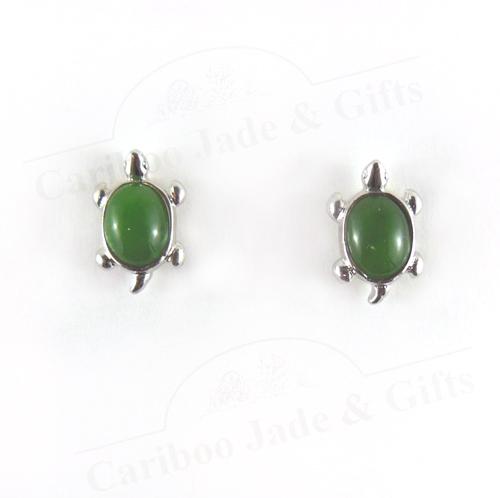 Bc Jade Turtle Earring